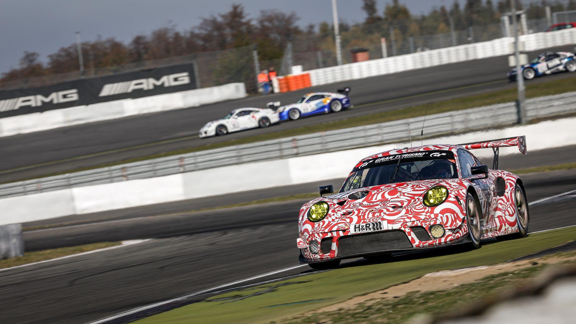 Manthey-Porsche 911 GT3 R